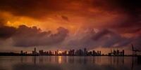 Beautiful Miami Skyline